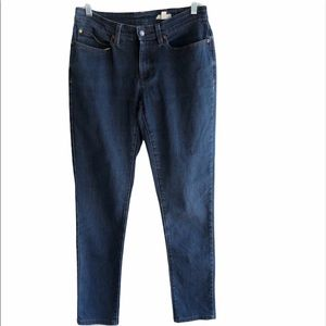 Eileen Fisher Organic Cotton Blue Jeans Size 6